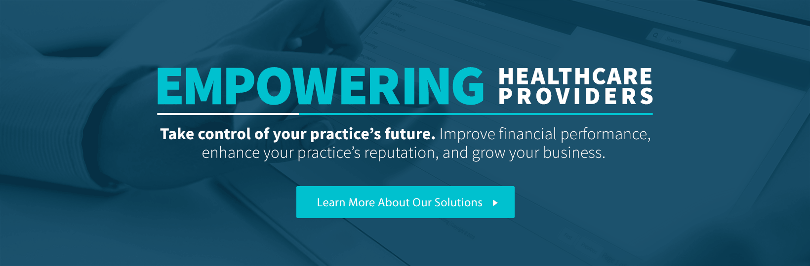 Improve financial performance, enhance your practice's reputation