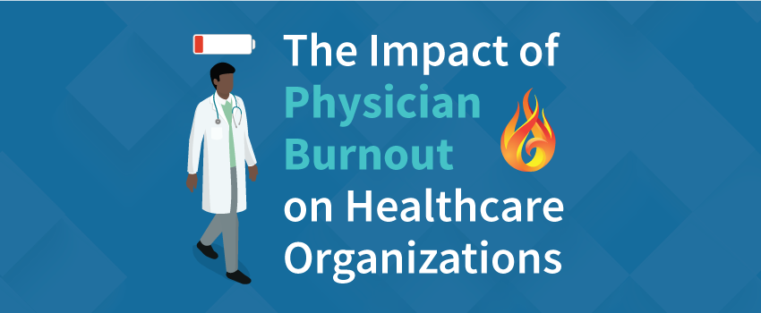 Physician Burnout Infographic Featured Image