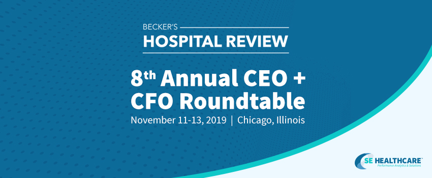 Becker's Hospital Review Roundtable Press Release Header Image