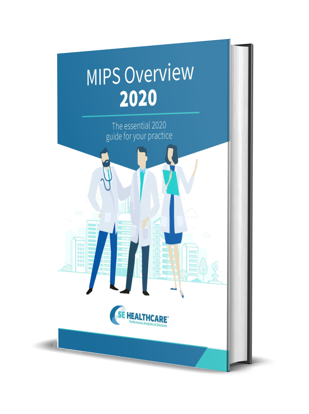 Image of MIPS Overview for 2020: The Essential 2020 Guide for Your Practice transcribed on front of book.